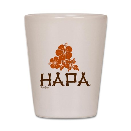 Hapa Shot Glass