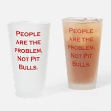 People Problem Larger Drinking Glass