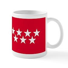 Madrid Flag Coffee Mug