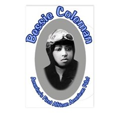 Bessie Coleman Postcards (Package of 8)