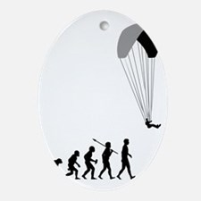 Paragliding2 Oval Ornament