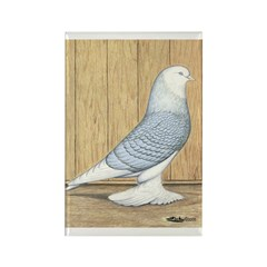 Reduced Bald West Rectangle Magnet (100 pack)