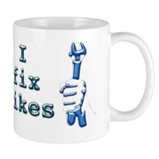 I Fix Bikes Mug