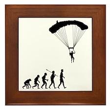 Parachuting2 Framed Tile