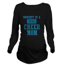 cheer mom Long Sleeve Maternity T-Shirt