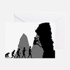 Rock-Climbing-02 Greeting Card