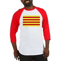 Catalunya Flag Baseball Jersey
