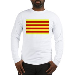 Catalunya Flag Long Sleeve T-Shirt