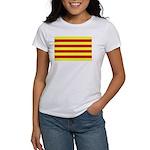 Catalunya Flag Women's T-Shirt