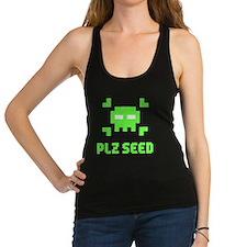 Plz seed Racerback Tank Top