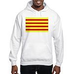 Catalunya Flag Hooded Sweatshirt