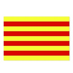 Catalunya Flag Postcards (Package of 8)