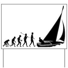 Sailing Yard Sign