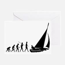 Sailing2 Greeting Card