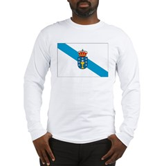 Galicia Flag Long Sleeve T-Shirt