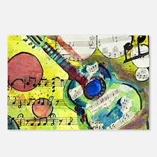 Heidelberg Guitar Postcards (Package of 8)