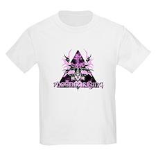 Pink Phoenix Rising Kids T-Shirt