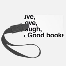 good books Luggage Tag