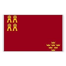 Murcia Flag Rectangle Decal