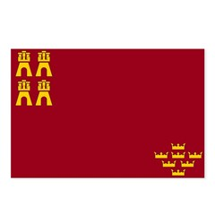 Murcia Flag Postcards (Package of 8)