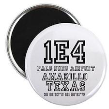 TEXAS - AIRPORT CODES - 1E4 - PALO DURO AIR Magnet