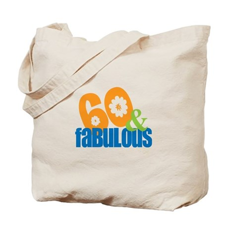 60th birthday & fabulous Tote Bag