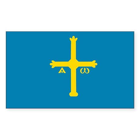 Asturias Rectangle Sticker