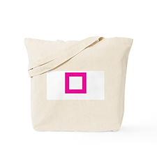 """""""pink square"""" Tote Bag"""