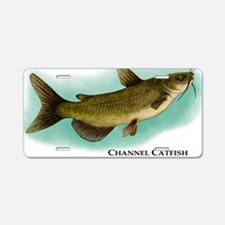Channel Catfish Aluminum License Plate
