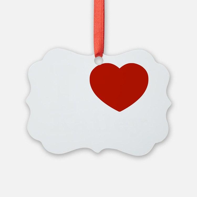 I love Kailey Ornament