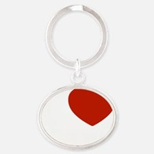 i love kara Oval Keychain