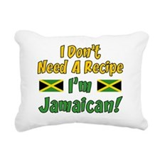 Dont Need Recipe Jamaica Rectangular Canvas Pillow