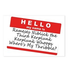 Ramses Niblick Postcards (Package of 8)