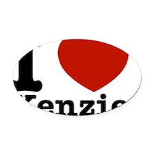 I love Kenzie Designs Oval Car Magnet