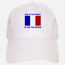 NO FRENCH Baseball Baseball Cap