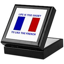 NO FRENCH Keepsake Box