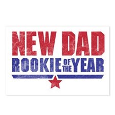 New Dad Rookie of the Yea Postcards (Package of 8)