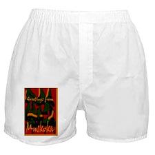 Muskoka Greetings Boxer Shorts