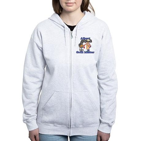 Grill Master Albert Women's Zip Hoodie