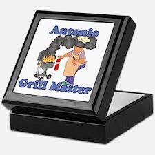 Grill Master Antonio Keepsake Box