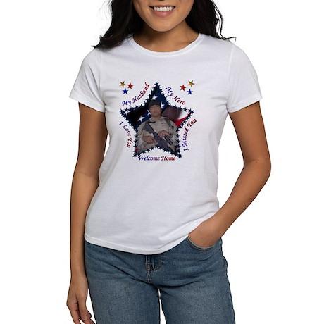 My Baby's HOME! Women's T-Shirt