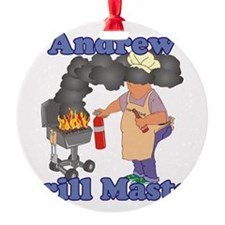 Grill Master Andrew Ornament