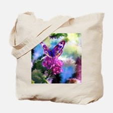 Colorful Abstract Butterfly Tote Bag
