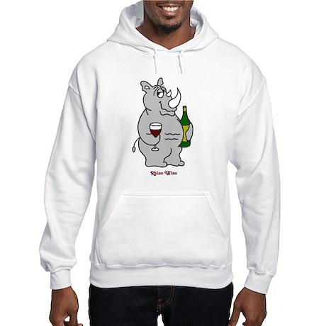 Rhino Wino #2 Hooded Sweatshirt