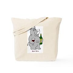 Rhino Wino #2 Tote Bag