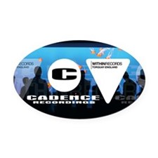 Label logos Oval Car Magnet