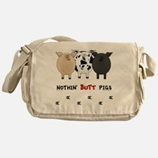 pigbuttsnew Messenger Bag
