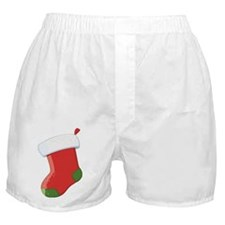 Santa's Stocking  Boxer Shorts