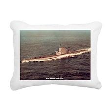 uss raton ssr framed pan Rectangular Canvas Pillow
