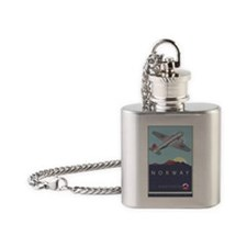 Norway Flask Necklace